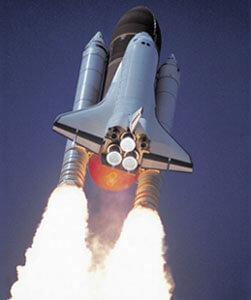 Space shuttle launching, Fishbowl Inventory Blog