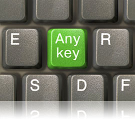 Any key on a keyboard, Fishbowl Inventory Blog