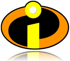 The Incredibles logo is the copyright of Disney and Pixar, Fishbowl Inventory Blog
