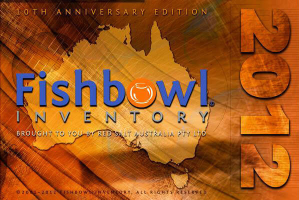 Fishbowl Australia splash page, Fishbowl Inventory Blog