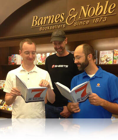 The 7 Non-Negotiables of Winning is available at Barnes and Noble Bookstores, Fishbowl Inventory Blog