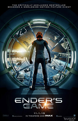 Ender's Game movie poster, Fishbowl Inventory Blog
