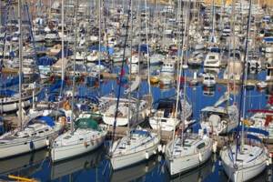 Dozens of boats in a harbor, Fishbowl Inventory Blog