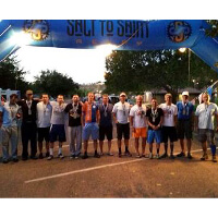 Fishbowl's 2014 Salt to Saint Relay participants at the finish line, Fishbowl Blog